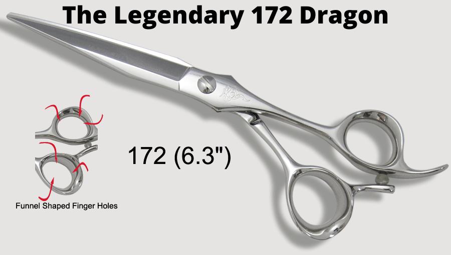 the legendary 172 dragon japanese shears